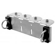 Montagehalterung STAR Geländer 4-fach G1/4i