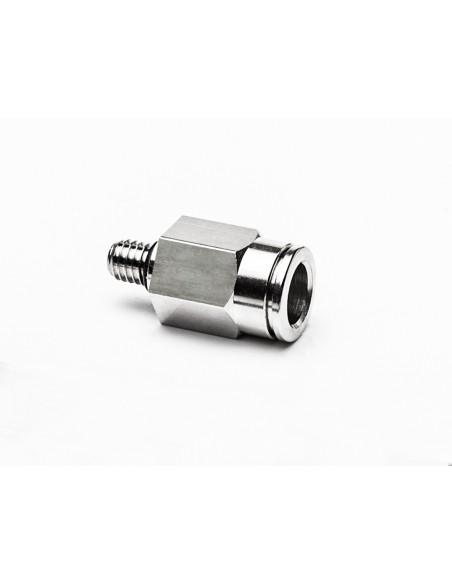 Schlauchanschluss M6a für Schlauch aØ 8 mm gerade