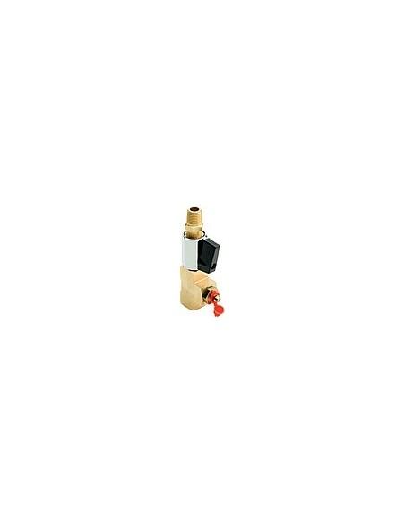 Spülanschluss mit manuellem Kugelventil G1/4