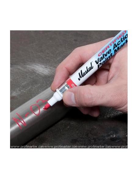 Markal Valve Action Paint Marker Certified  Marcatori a vernice liquida  v