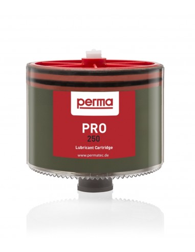PRO LC 250 ccm with High Temperatur High Pressure Grease SF05 perma-tec LC-units standard lubricants