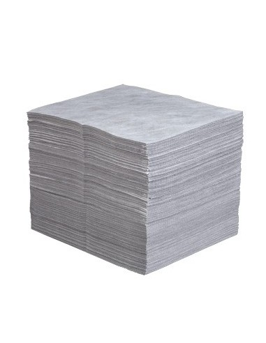 Universalbindevlies, Tücher im Servicepack (8x10 Tücher), SM, HW, 40 x 50 cm, grau  Olie Absorberend