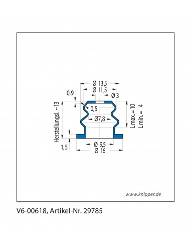 Protection Bellow V6-00618
