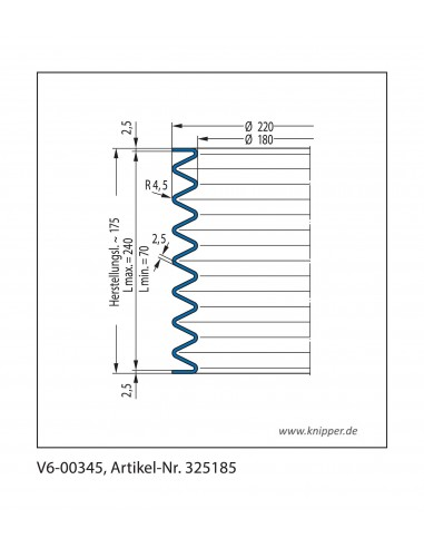 Protection Bellow V6-00345