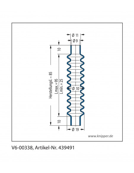 Protection Bellow V6-00338