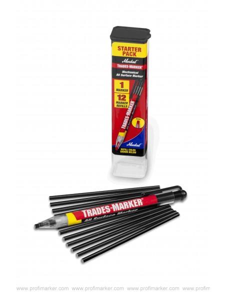 Markal Trades-Marker Starter Pack  Marcatori polivalenti v