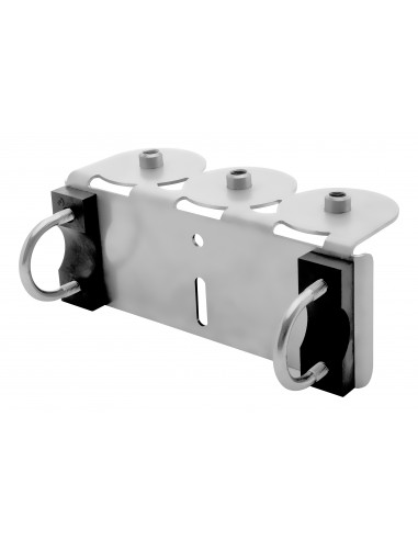 Support de montage STAR pour rampe triple G1/4i perma-tec Gli esperti in soluzioni di lubrificazione v
