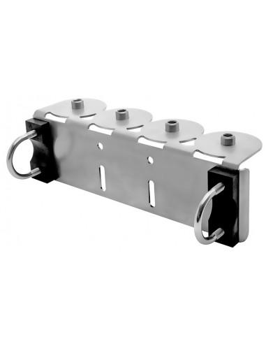 Support de montage STAR pour rampe quadruple G1/4i perma-tec Gli esperti in soluzioni di lubrificazione v