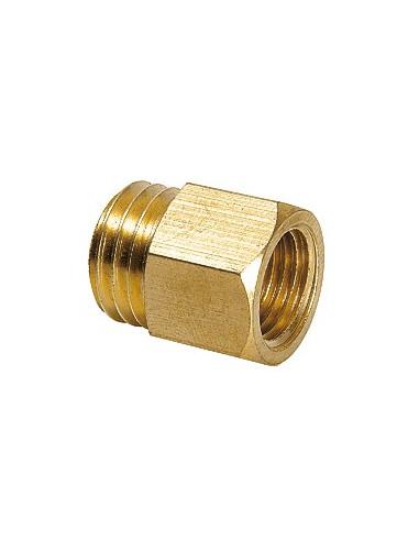 Riduttore M16e x G1/4i (Messing) perma-tec perma riduzioni e limitatore di olio v