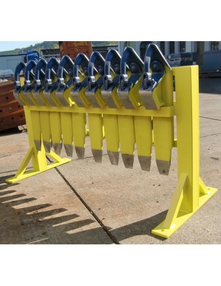 brake shoe rack 20 LIBO Railway and Tracking materials